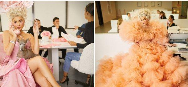 Кайли Дженър за децата, козметиката и милионите... фенове, пред Harper's BAZAAR