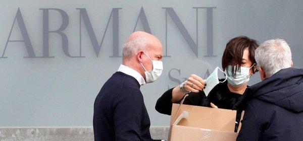 Армани показа колекция при закрити врата заради коронавируса