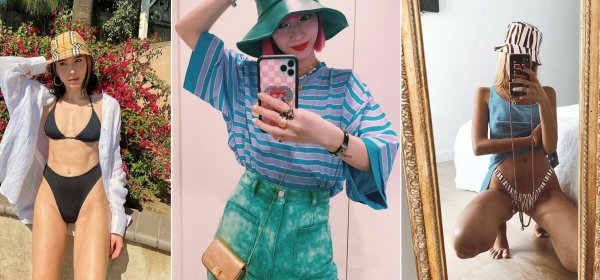 Street Style: шапките на модните момичета