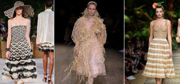 Trend Report: бъди устойчив, облечи се в рафия!