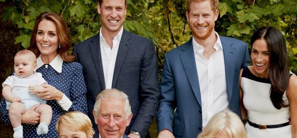 Хари и Уилям превърнали 70-ия юбилей на баща си в