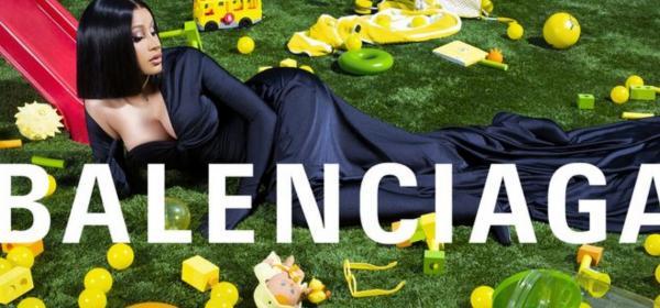 Кой как избра да се рекламира: Cardi B с първа кампания за Balenciaga