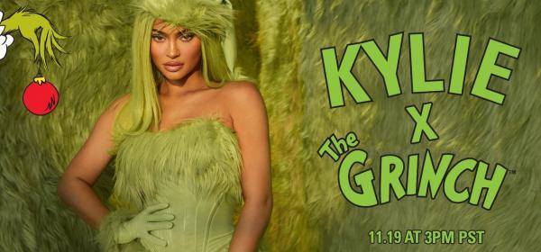 Make-up за сърдитковци: Kylie Cosmetics X The Grinch