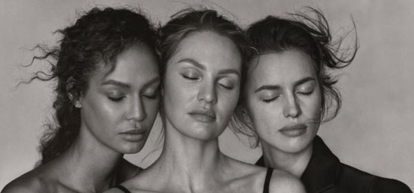 """""""Преди всичко хора"""": Ирина Шейк, Кандис Суейнпоъл и Джоан Смолс за гръцкия Vogue"""