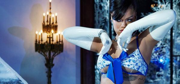 Риана: секси Снежанка в новата си кампания