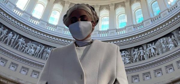Преди инаугурацията: Лейди Гага в Капитолия