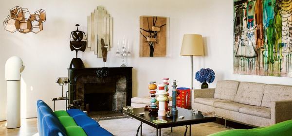 Интериор: парижкият дом на директора на аксесоарите в Louis Vuitton - Камил Мичели