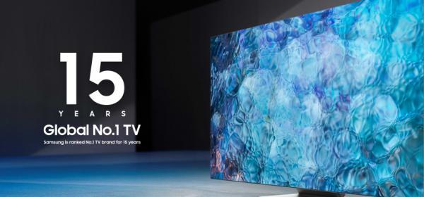 За 15-a поредна година Samsung е производител № 1 на световния пазар за телевизори