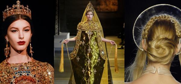 Religously Fashionable: 12 пъти, в които дизайнерите се вдъхновяват директно от небесата