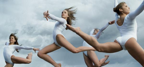 Sport and Style: 23 олимпийски кадъра от архива на Vogue