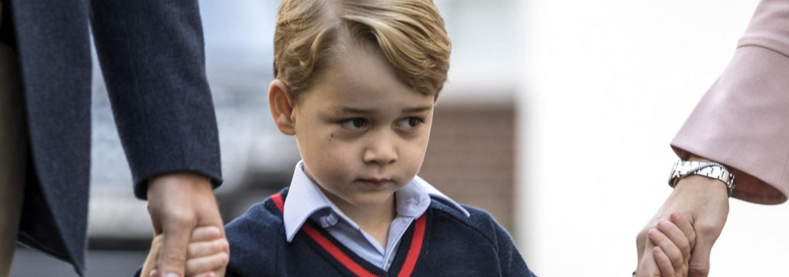 Принц Джордж не иска да ходи на училище