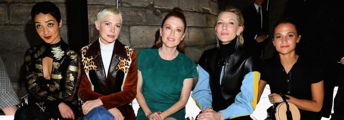Agеless Fashion в Париж: Кейт, Джулиан и компания