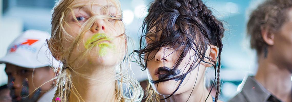Dare U: размазаното червило на Vivienne Westwood