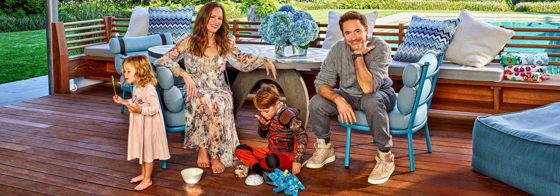 Family Time: Къде се шири Робърт Дауни и семейство