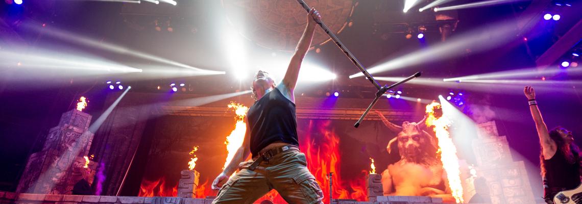 Iron Maiden идват с Legacy Of The Beast в България!