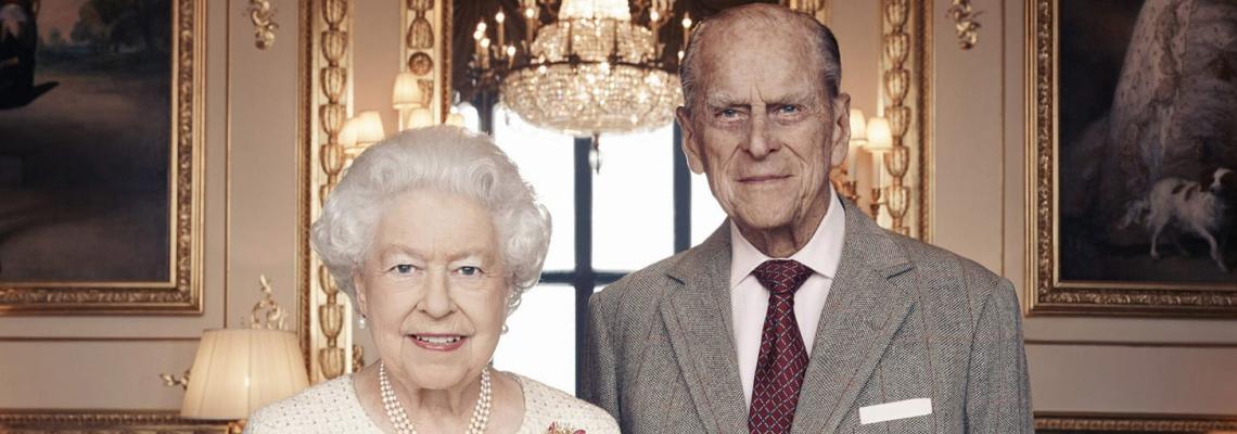 Кралица Елизабет & Принц Филип празнуват сватбен юбилей