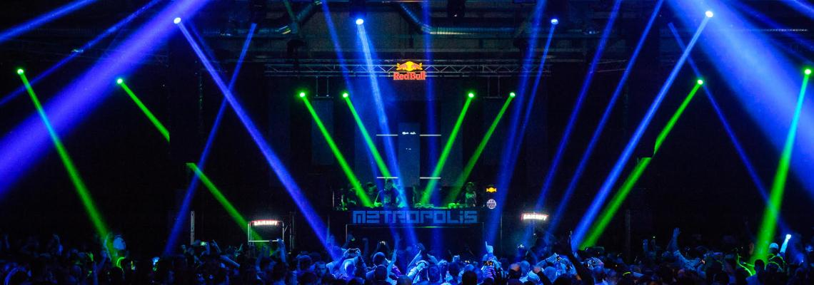 Metropolis закрива годината с взрив от звук и светлина