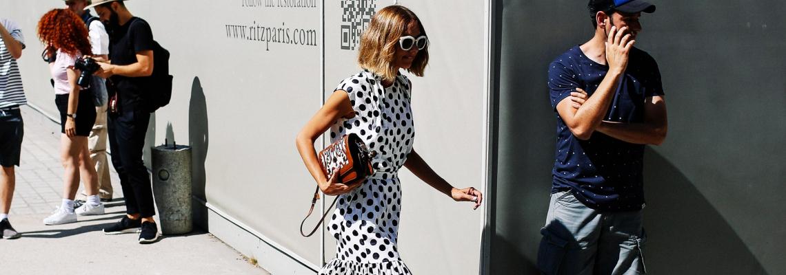 It shopping list: Polka dots