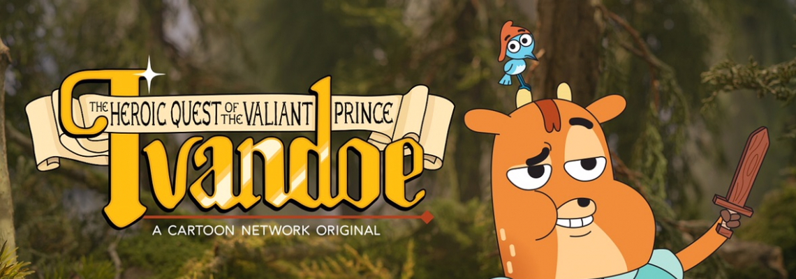 """Cartoon Network представя новия сериал """"Подвизите на безстрашния принц Айвъндоу"""""""