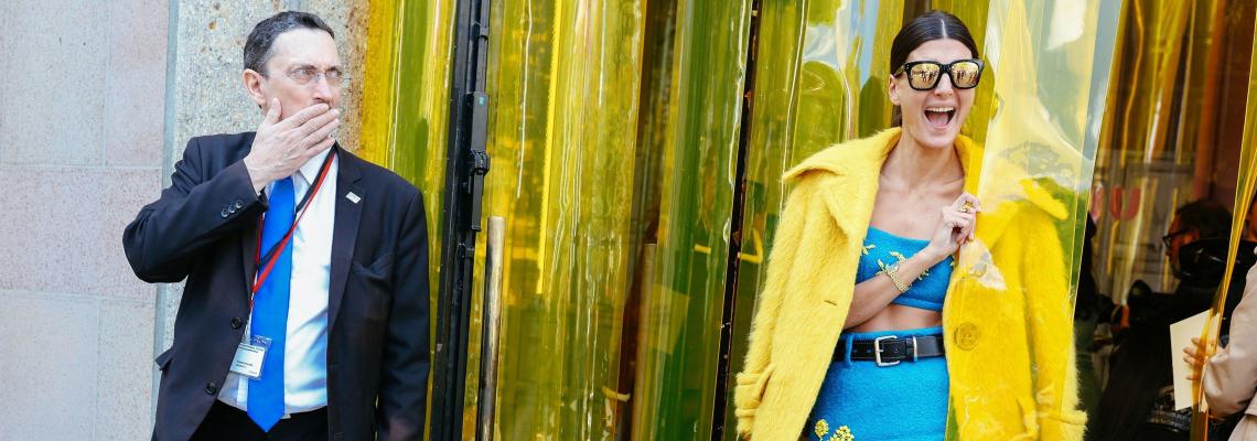 Щрак, fashion, на портрет: Джована Баталя