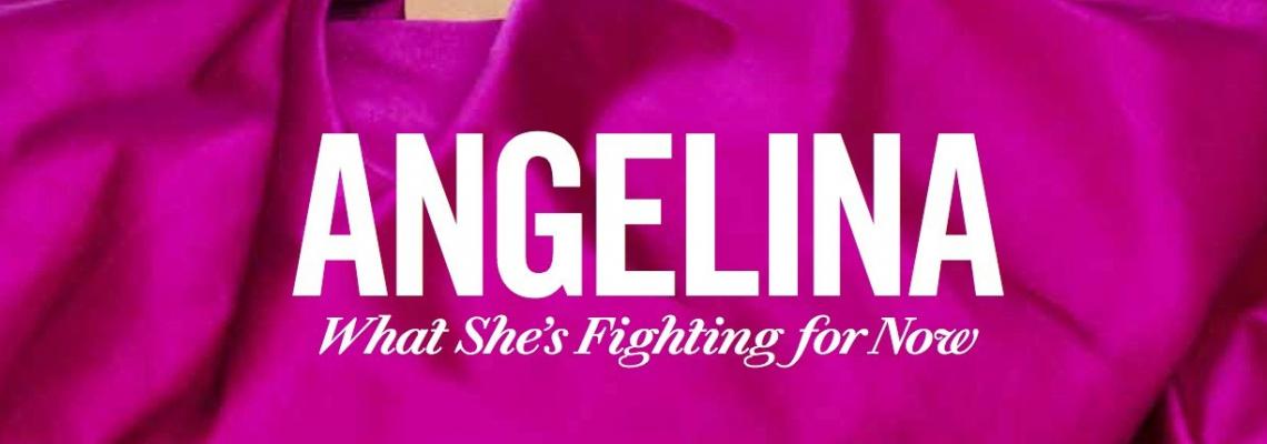 We Love: Анджелина и дъщерите за Elle