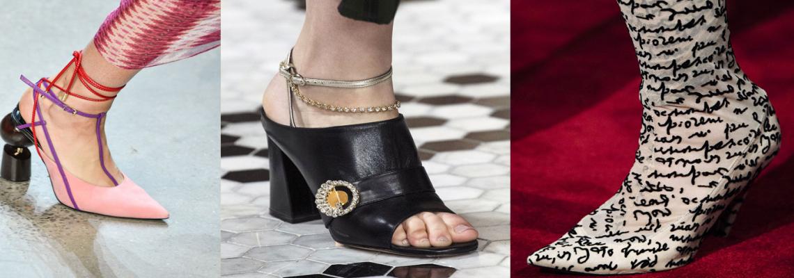 NYFW 2018: Най-доброто от обувките