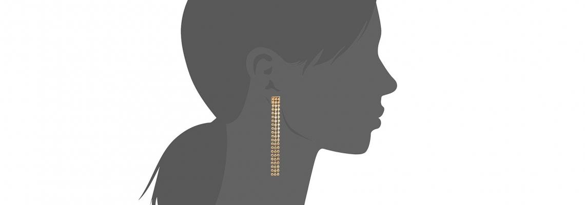 Chandelier earings: Обеците на 2018-та