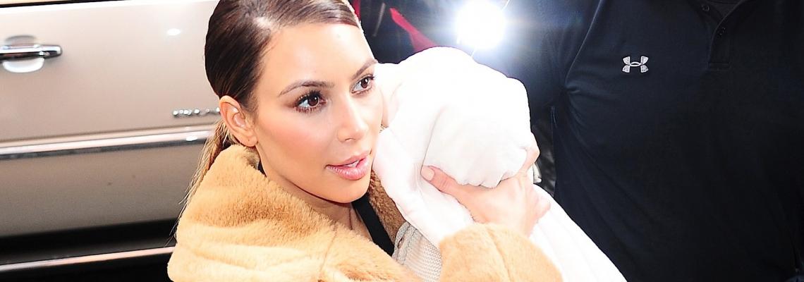 Здравей, бебе Чи: Ким показа новородената си дъщеря