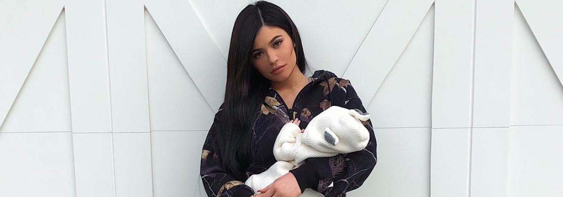 Photo дебют: Кайли показа дъщеря си