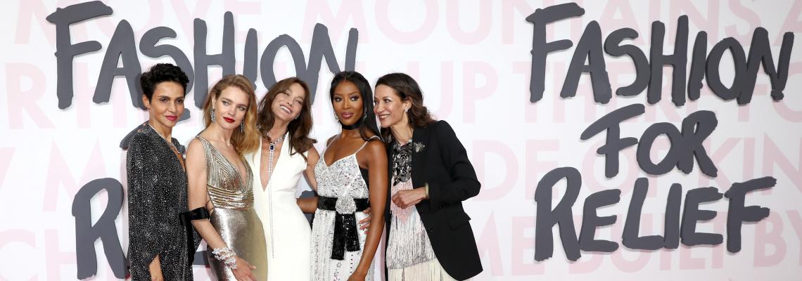 Fashion For Relief, събитието на Наоми Кембъл: Red Carpet Finest
