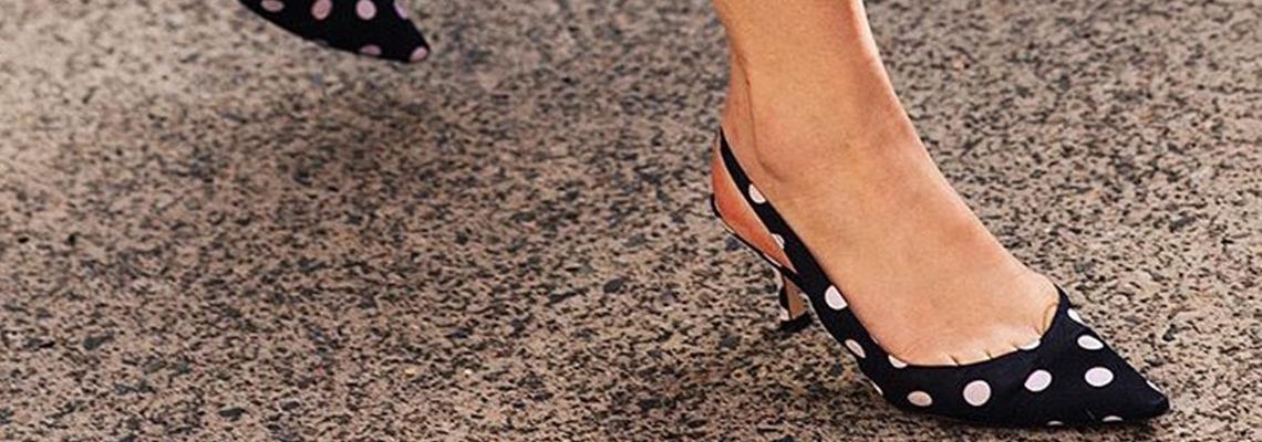 Street style вдъхновения: Polka dots