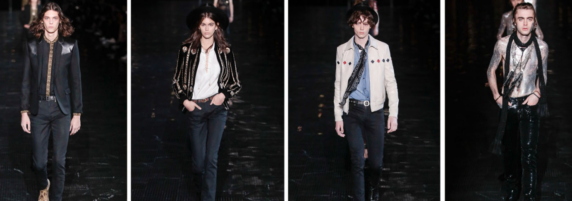 Spring 2019 Menswear: Saint Laurent