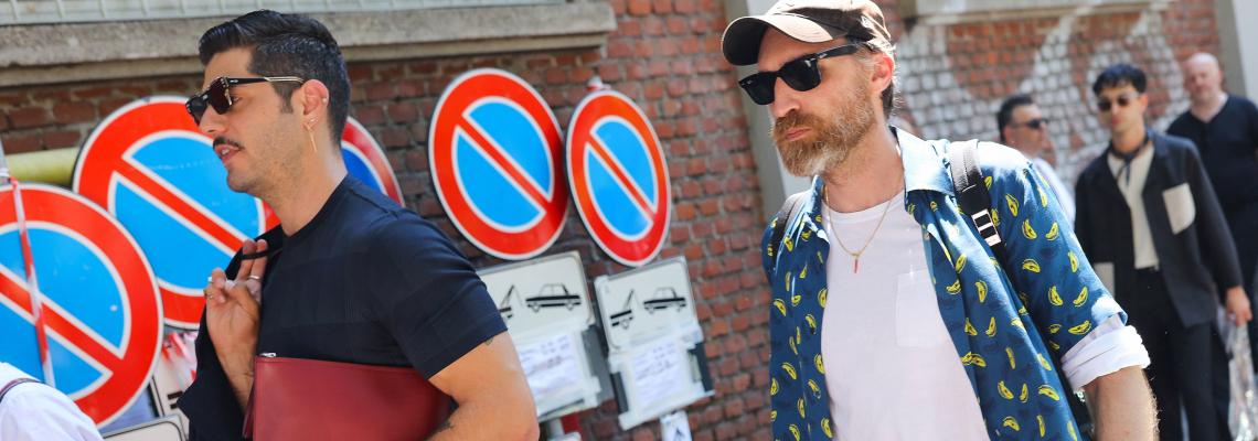 Street style вдъхновения: Milan Fashion Week Men's Пролет/Лято 2019