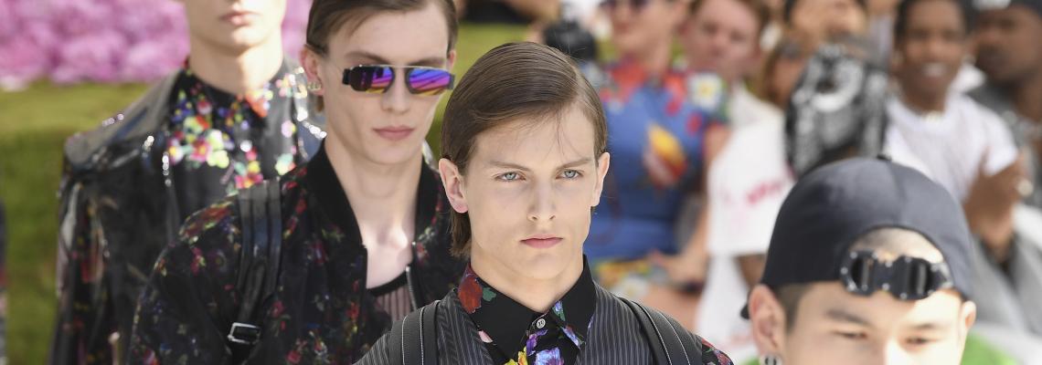 Dior Men: Кой беше на front row-a?