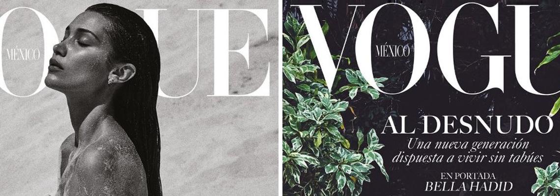 Breathtakingly Beautiful Bella за Vogue Mexico!