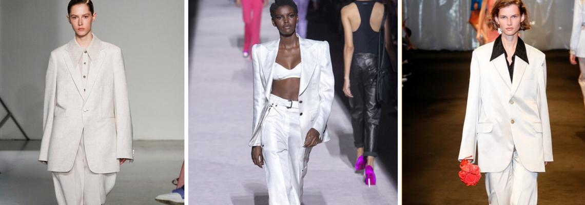 Trend report: Белият костюм