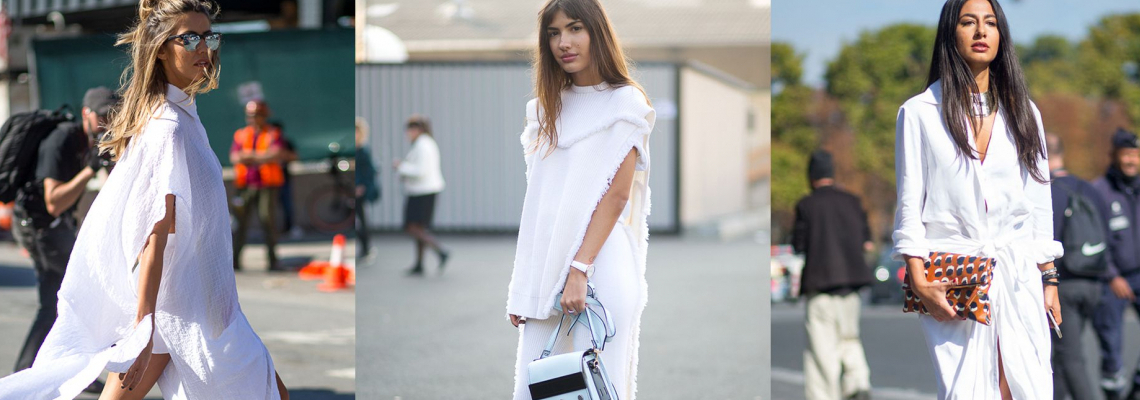 Trend report:  The White Dress