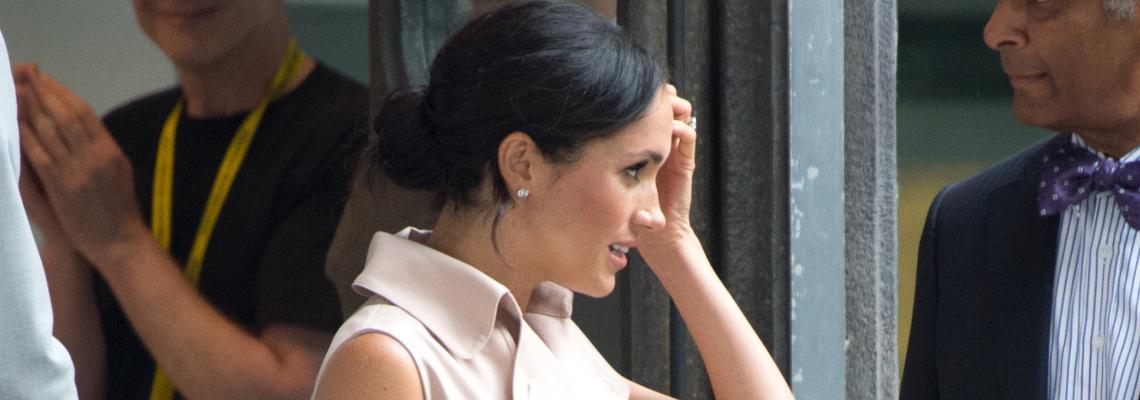 Дневна доза: Херцогинята на Съсекс в розовата гама