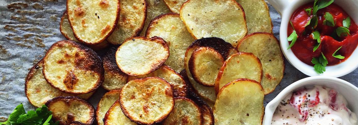 Лесни рецепти от Деница Костадинова:№3 - полезен картофен чипс