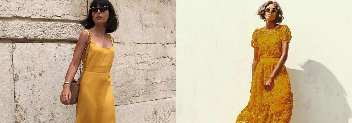 Стил урок на седмицата: Жълтата рокля