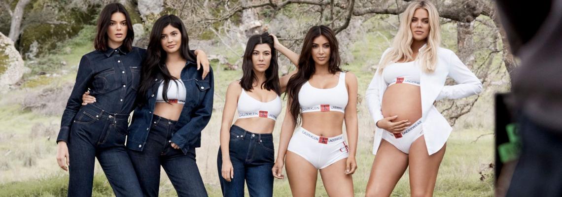 Да или Не: Сестрите Кардашян в кампанията на Calvin Klein