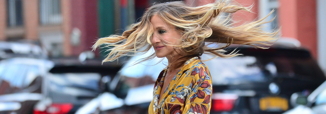 Уличният стил на звездите: Сара по пижамка в Ню Йорк