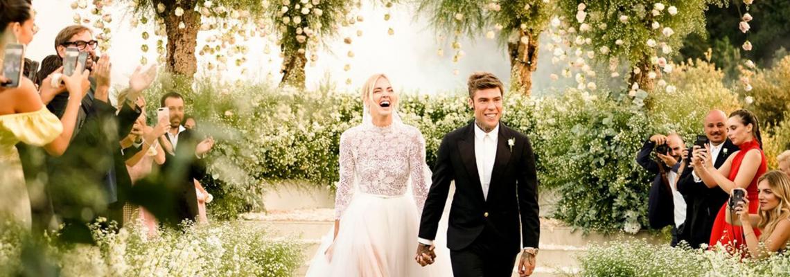 Italian Royal Wedding: Киара & Fedez си казаха