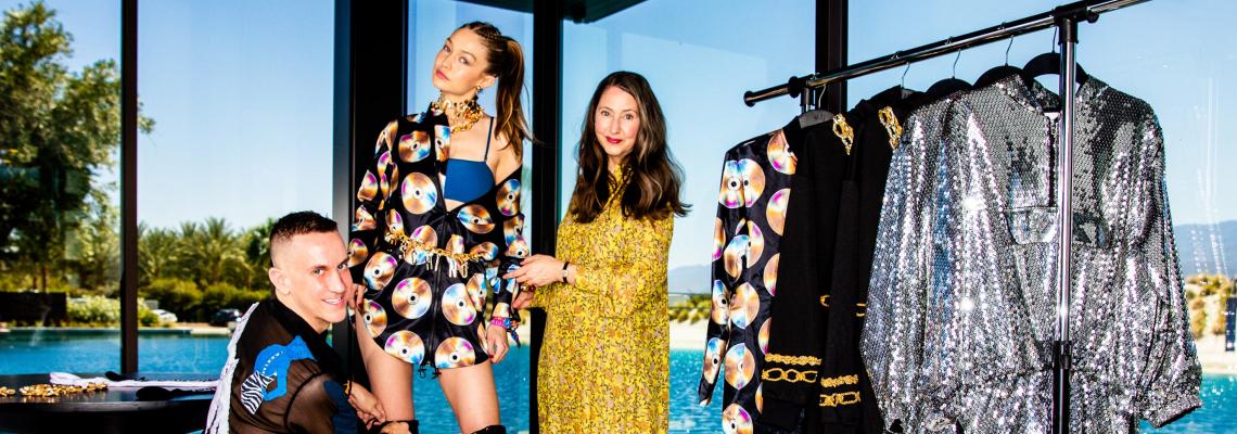 We love: Джиджи и компания за H&M x Moschino