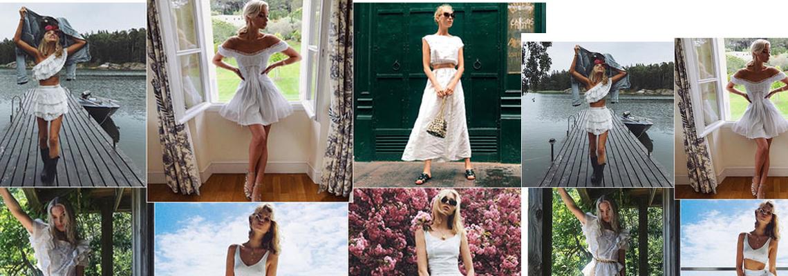 The Girl in White: Елза Хоск и blanc визиите й