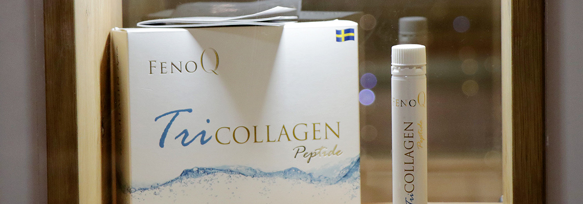 TriCOLLAGEN peptide + Paradise Center = The new HOT SPOT in town!