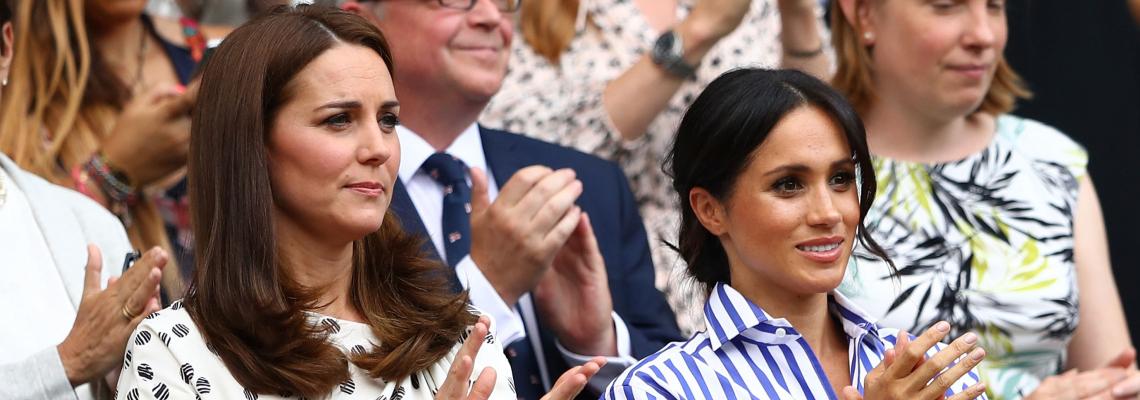 Меган & Кейт: Как и двете хрецогини отново заложиха на носени рокли