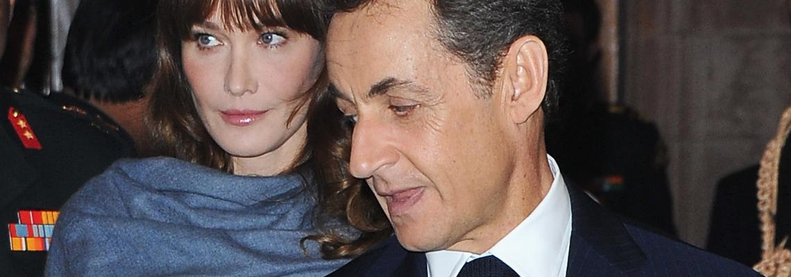 Обичта на известните: Н. и К. Саркози празнуват 11 години любов във Венеция