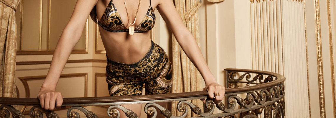We love: Бела за Kith x Versace