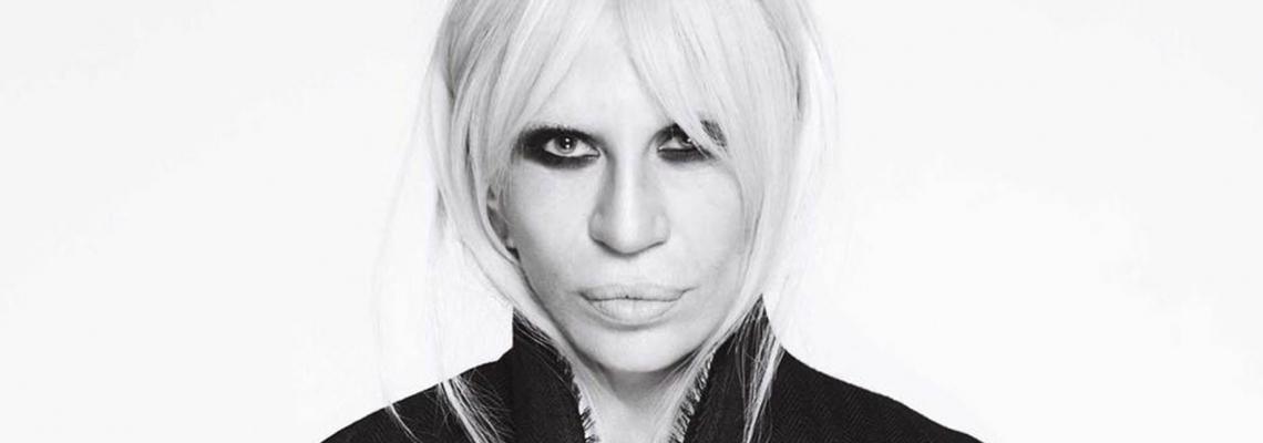 Щрак, fashion на портрет: Донатела Версаче